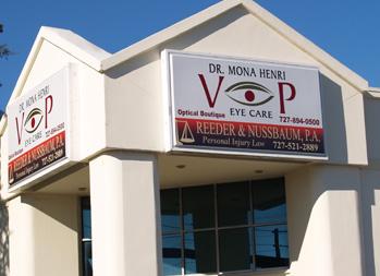 VIP Eyecare Building